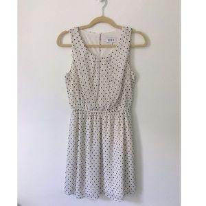 Elle   polka dot sleeveless dress   4